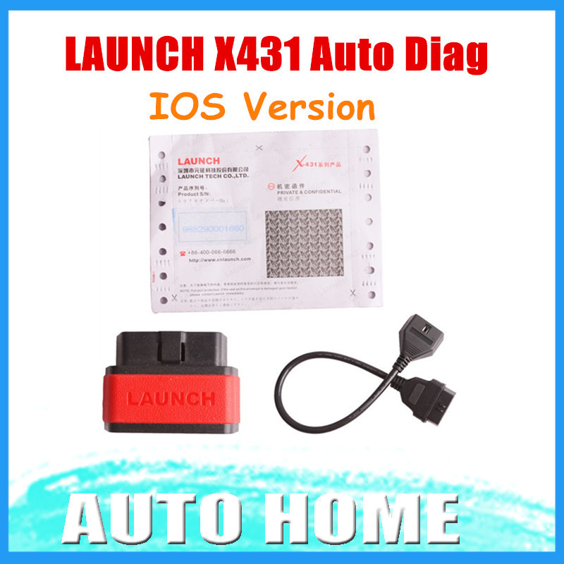 [LAUNCH Distributor] 2015 100% Original X431 iDiag Auto Diag Scanner for IOS Update Online Free shipping(China (Mainland))