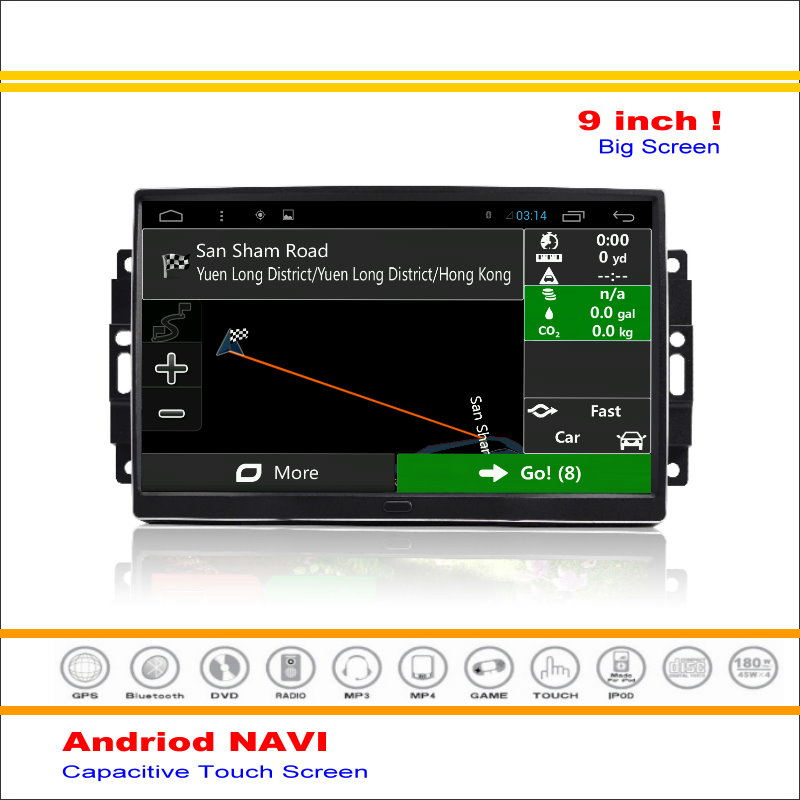 Car Android GPS NAV Navigation System For GM Chrysler 300 300C 2005~2010 - Radio Stereo Audio Video Multimedia ( No DVD Player )(China (Mainland))