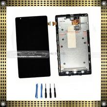 Полный жк-дисплей с сенсорным экраном + рамкой кадра замена для Nokia Lumia 1520 бандит с помощью бесплатных инструментов