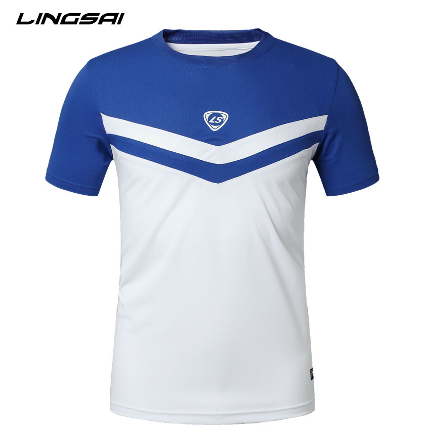 Dry fit men 39 s t shirt lingsai 2015 new arrival fashion for What is a sport shirt