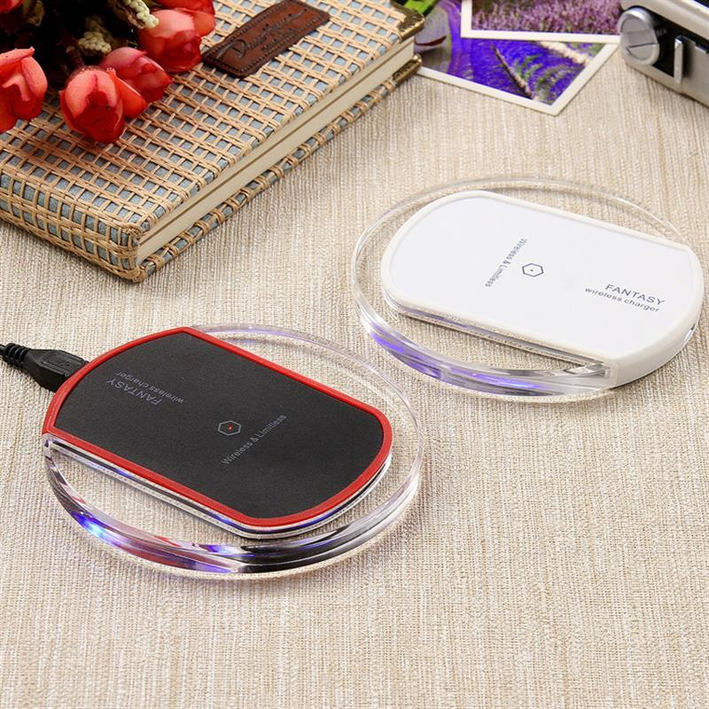 Micro USB Qi Universal Wireless Charging Kit Charger Pad Coil Receiver Android Phone THL OnePlus Honor Qi Charge Adapter Set