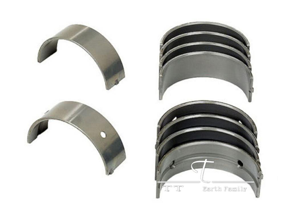 8pcs/set Motorcycle Engine Parts For Suzuki BANDIT 250 GJ77A Oversize +25 Connecting Rod Crank shaft Bearing