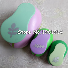Free Shipping Oak leaves shape save power paper/eva craft punch Scrapbook Handmade punchers Child DIY hole punches leaf puncher(China)