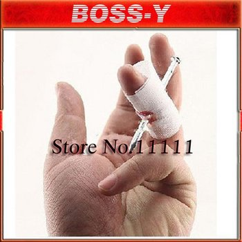 wholesale,50 pcs/lot, New trick toy,Nail through finger,Funny trick wear refers to nail. Free shipping!!! A002