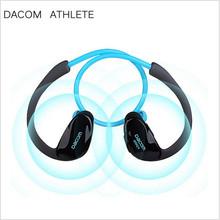 DACOM ATHLETE Bluetooth Headset Ear Phones High Quality Best Earbuds Earphones Stereo Earhook Sport Earphone Wireless Mic NFC