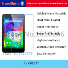 NanoShield Soft Nano Anti-Shock Screen Protector Mobile Phone Protective Film For CUBE T7 With Retail Packaging