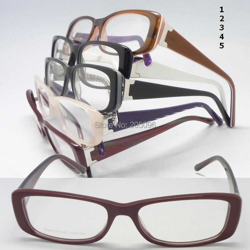 Wholesale RB24628 classic acetate rectangle full-rim colors matching temple flexible hinge fashion optical frames free shippingОдежда и ак�е��уары<br><br><br>Aliexpress