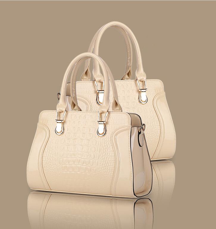 VEEVAN women handbag brand women messenger bags Crocodile leather women bag tote shoulder crossbody bags bolsas handbags(China (Mainland))