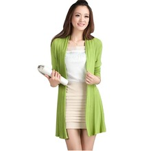 Spring fashion women Cardigan sweater 2017 new style Casual knitted cardigan Free Shipping Black Cardigan Sweater Women(China (Mainland))