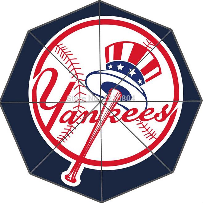 M-L-B Team New York Yankees Custom Decoration Design Fashion Classic Rain Umbrella Free Shipping(China (Mainland))