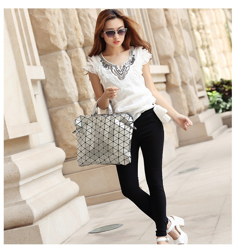luxury women evening bag japanese Bao Bao Bag Diamond Lattice Fold Over Bags Women Handbags Chain Shoulder BaoBao hobo bag