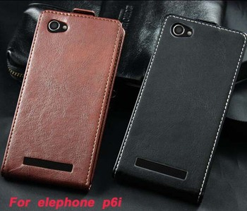 Original p6i High quality Luxury Flip Leather case for Elephone P6i Mobile phone cover in stock Good style Free Shipping.