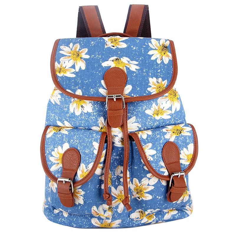 30 colors exclusive handmade vintage rucksack printing canvas women backpack mujer mochila. Black Bedroom Furniture Sets. Home Design Ideas