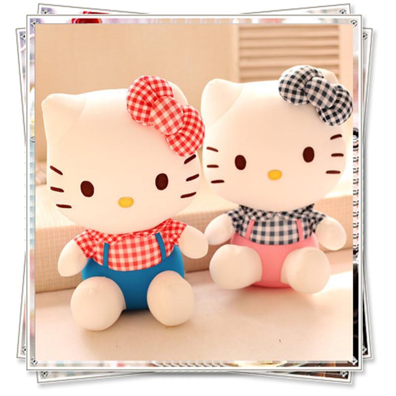 Hello kitty Cat kids toys spongebob kawaii ty plush animals kitti doll plush toys unicorn toy littlest pet shop valentine gift(China (Mainland))