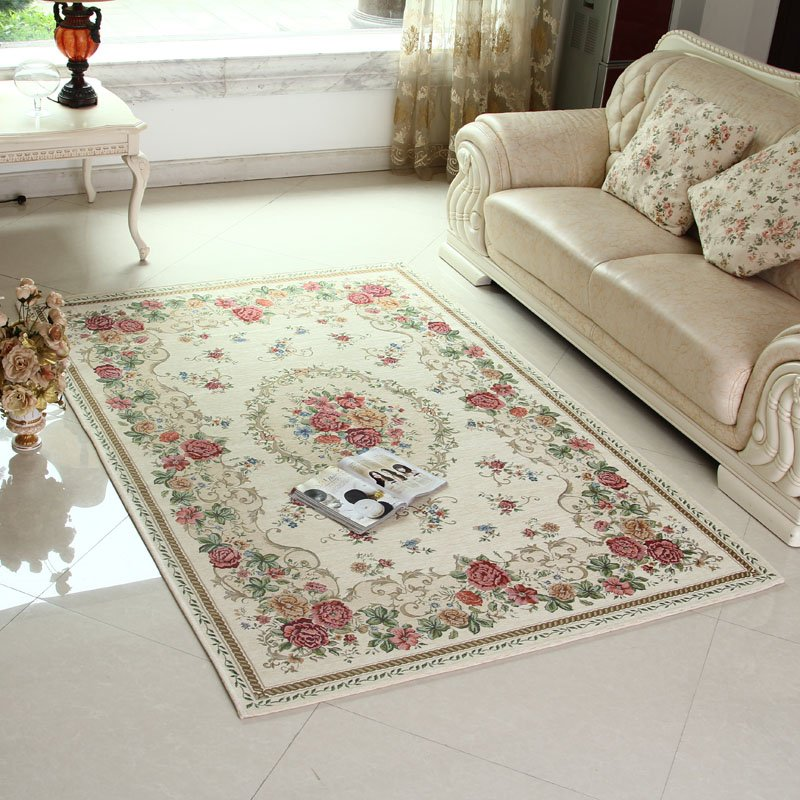 160 Beige 120X180cm carpet the Classic European Country Style Chic ...