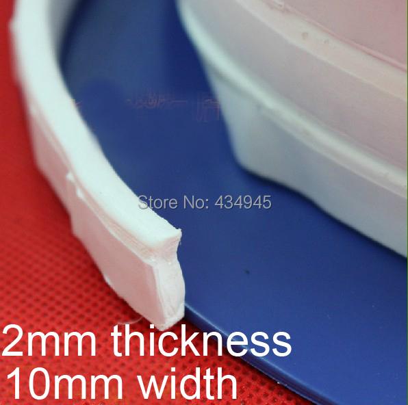 2mm thickness 10mm width PTFE Thera-band F4 Elastic loops teflon seal belt sealing tape Expanded PTFE Joint Sealant(China (Mainland))