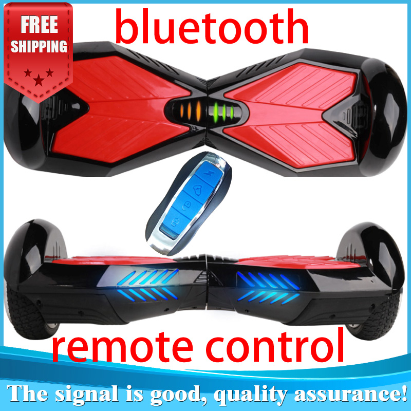 Two wheel self standing electric scooter Bluetooth music Remote key Adult balancing LED Light - China taihe technology co., LTD store
