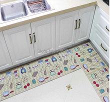 Wholesale Japanese special cushion antiskid bibulous carpet kitchen door mat strip kitchen rug door mat(China (Mainland))