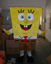 High quality of Spongebob Mascot Costume Sponge Bob Mascot Costume,fast Shipping