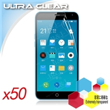 For Meizu M1 Note Screen Protector Super Clear High Definition Protective Film Glossy Top Quality For Meizu Note 50pcs Wholesale(China (Mainland))