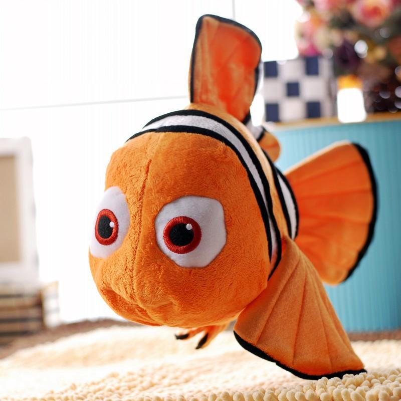 """Finding Nemo 1pcs 9"""" Free Shipping Movie Cute Clown Fish Stuffed Animal(China (Mainland))"""