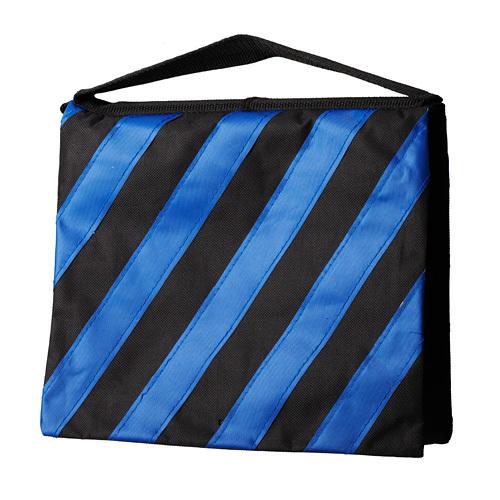 Lightupfoto 2pcs Sand Bags for Studio Photo Video Light Stand Boom Arm studio sand bag blue black PSA6B-2 free shipping(China (Mainland))
