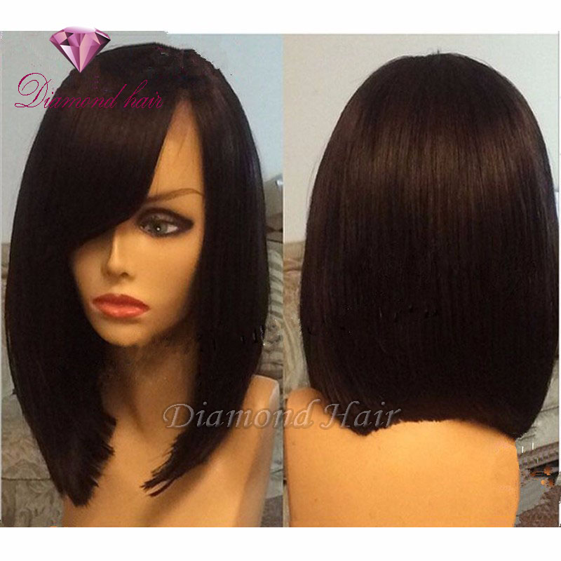 Human Hair Bob Lace Wigs - Wigs By Unique