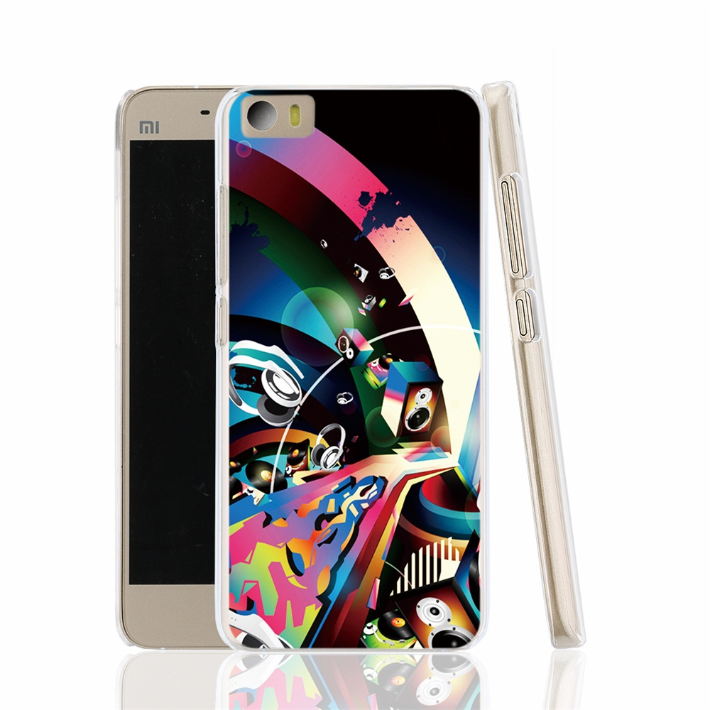 17128 Fitted Authentic Fabrics Backed cell phone Cover Case for Xiaomi Mi M 2 3 4 5 Mi4 Mi2 Mi3 Mi4 4S 4I Mi5 NOTE(China (Mainland))