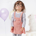 Hot Sale Baby Girl Clothes Overalls 6M To 4T False Two Dresses For Girls Cute Stars