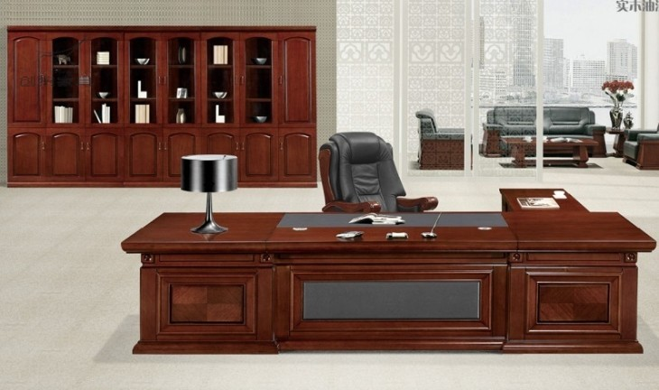 Excellent Buy MDF Paper Office Desk Furniture Boss Table PriceSizeWeightModel