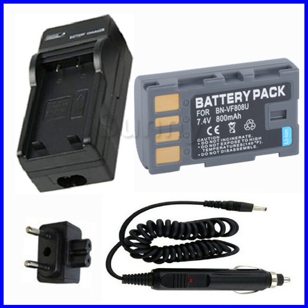 Battery + Charger for JVC GR-D750U, GR-D770U, GR-D850U MiniDV Digital Video Camera<br><br>Aliexpress