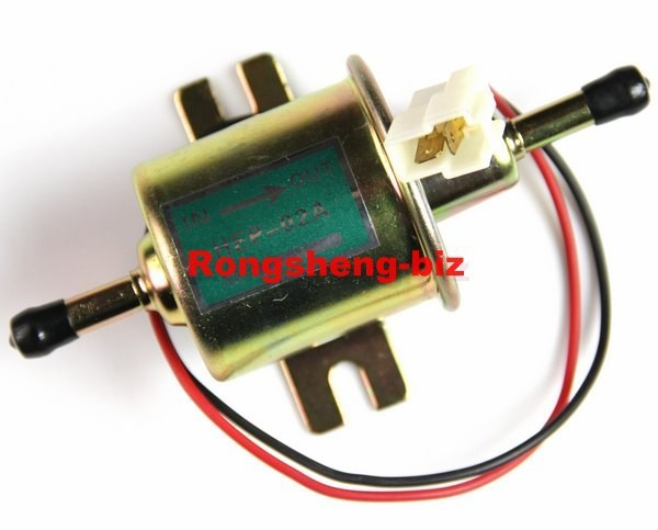 Universal tank Fuel Pump inline carburator 12V chevy toyota ford - China Precise Instruments Supplier store
