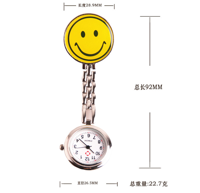 Smiley nurse table kt cat professional pocket watch pocket watch eco-friendly medical table(China (Mainland))