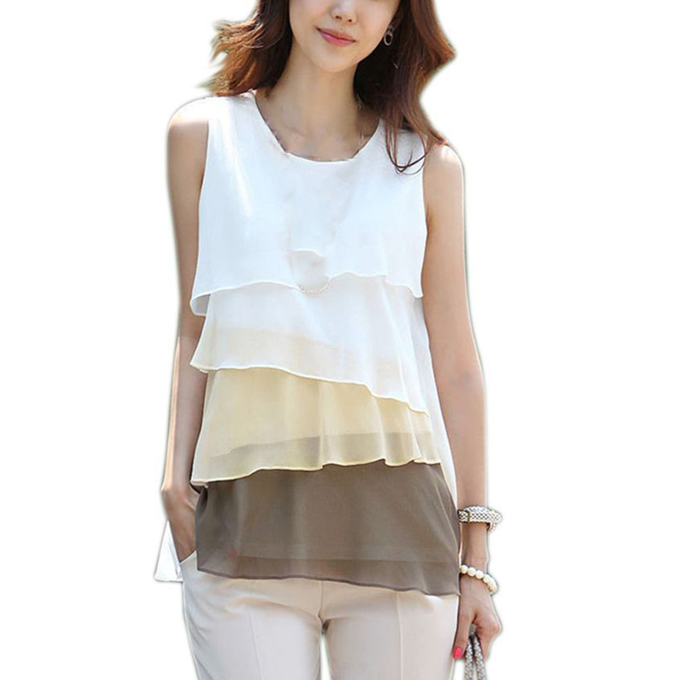 Women'S Layered Blouse