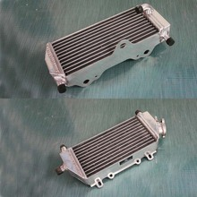 aluminum alloy radiator fit for Yamaha YZ125 YZ 125 2-stroke 2005 - 2012 L+R engine cooling system for motorcycle Free shipping(China (Mainland))