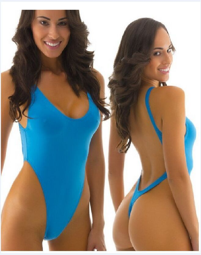 New 2015 super push up triangl brazilian thong swimsuit one piece swimsuit bodysuit For Women bathing suit(China (Mainland))