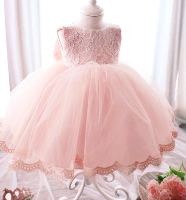 Wedding Gift For Friend Female Malaysia : Haute qualite bebe fille robe de bapt?me pour fille infantile 1 ...