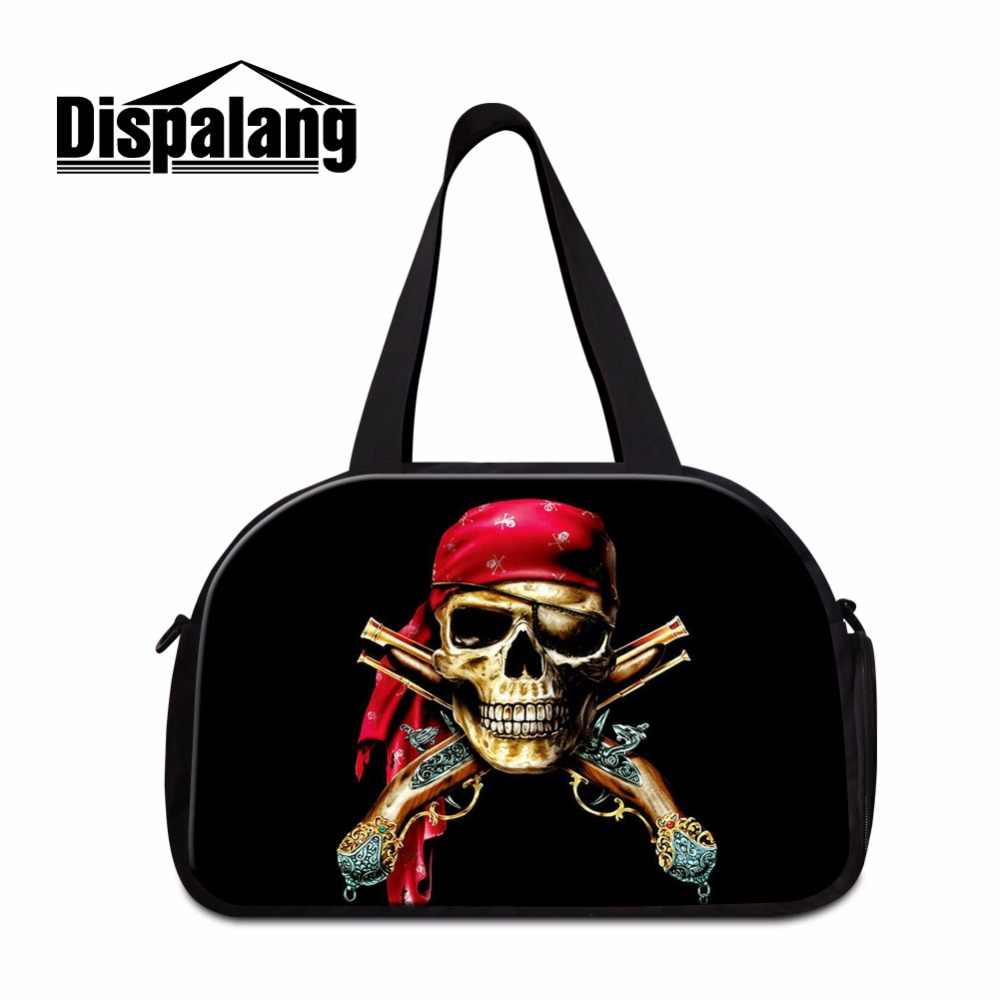 Latest Design Skull Canvas Gym Bags for Boys Coolest Duffle Bags font b On b font