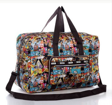 Free Shipping 2014 New Travel Totes Water Proof Flower girls Travel duffle handbags womens luggage travel bag folding bags(China (Mainland))