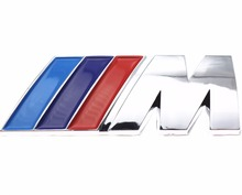 Buy Excellent car styling Car Sticker M power Series Logo Emblem Badge Chrom 1 3 4 5 6 7 E Z X M2 M3 M4 M5 M6 Mline BMW M for $1.20 in AliExpress store