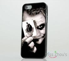 Joker Batman Dark Knight Protector back skins mobile cellphone cases for iphone 4/4s 5/5s 5c SE 6/6s plus ipod touch 4/5/6