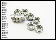 Buy 10pcs/Lot MR73ZZ MR73 ZZ 3x7x2.5mm Thin Wall Deep Groove Ball Bearing Mini Ball Bearing Miniature Bearing Brand New for $5.57 in AliExpress store