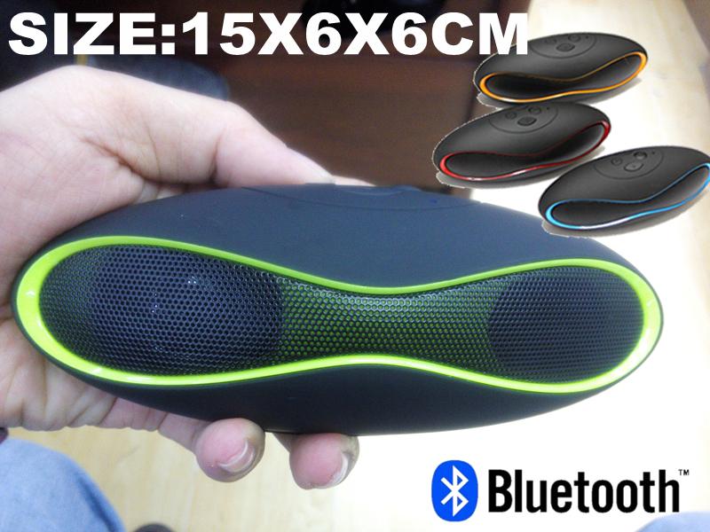 Big discount X-6 MINI Football Wireless Bluetooth Speaker Portable Audio Player Music Speaker for Iphone Samsung Ipad 2015 New(China (Mainland))
