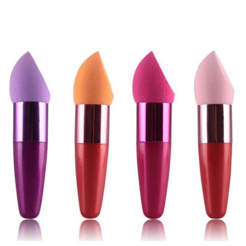 Best Deal New Professional Women Cosmetic Blusher Brush Liquid Cream Foundation Concealer Sponge Lollipop Brush 1PC(China (Mainland))