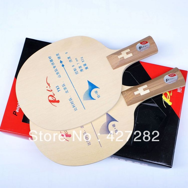 Original Palio TS3 (TS 3, TS-3) 5wood+2carbon+2titanium table tennis blade for fast attack with loop table tennis rackets(China (Mainland))