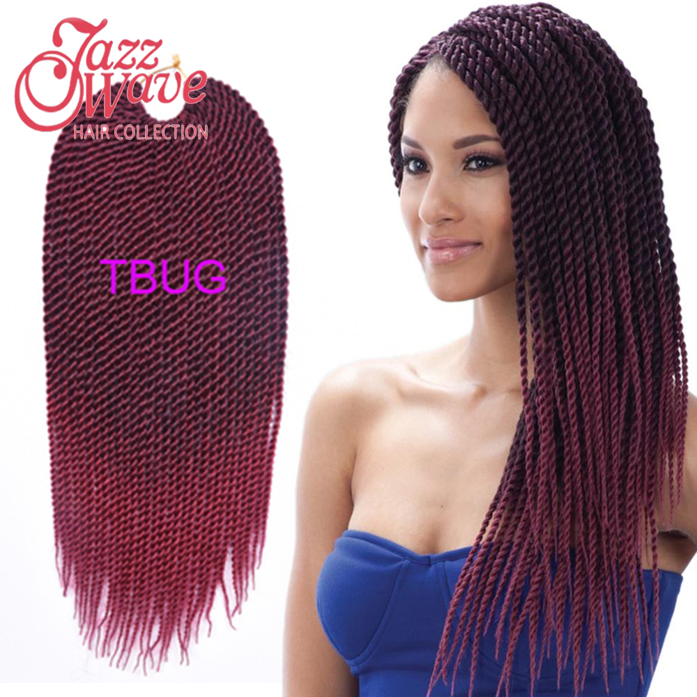 Twist Crochet braiding hair expression braiding hair synthetic hair ...