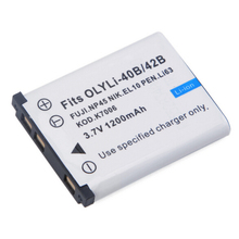1200mAh Li-40B/42B Battery for Olympus Li-42B Lithium Ion Rechargeable Camera Battery Pack