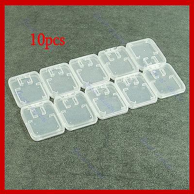 "Y92-""10pcs TF Micro SD SDHC Memory Card Plastic Case White(China (Mainland))"