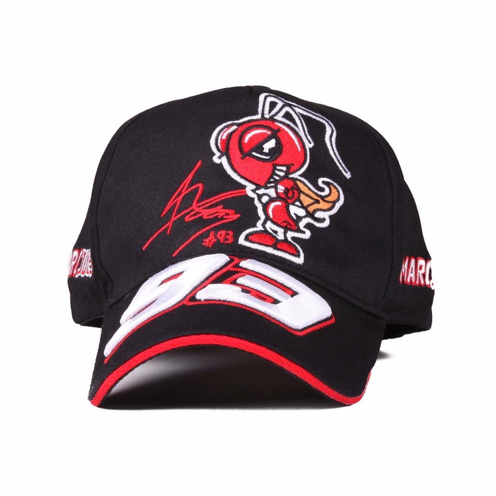 17 Colors 2016 The Official F1 MOTO GP Marc Marquez 93 cap baseball cap gorras Sport hat motocross racing cap adjustable strap(China (Mainland))