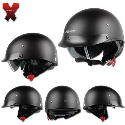 Fasionable vintage style harley helmet,all season half helmet,unisex motorcycle helmet on sale(China (Mainland))